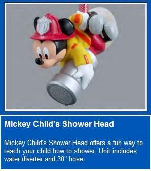 Alsons Mickey Mouse Kids Shower Locke