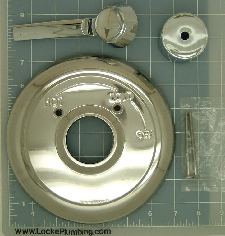 American Standard 78464 0020a Escutcheon Kit With Lever
