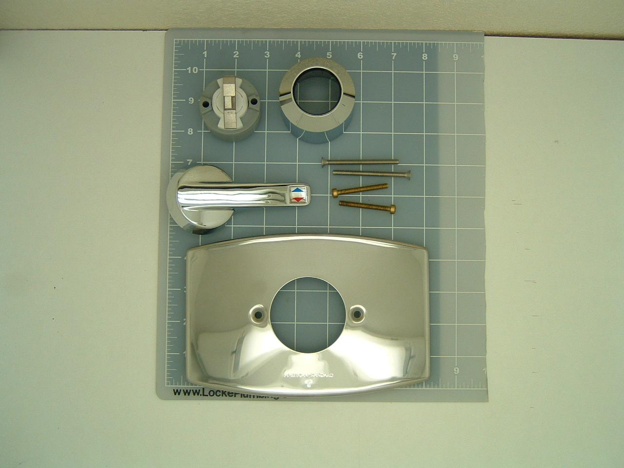 American Standard 1490KIT Complete Aquarian II Faucet ...