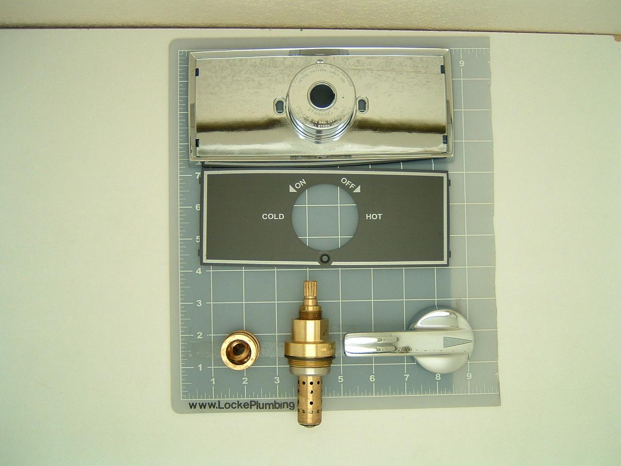 American Standard Thermo Guard 200 Faucet Rebuild Kit