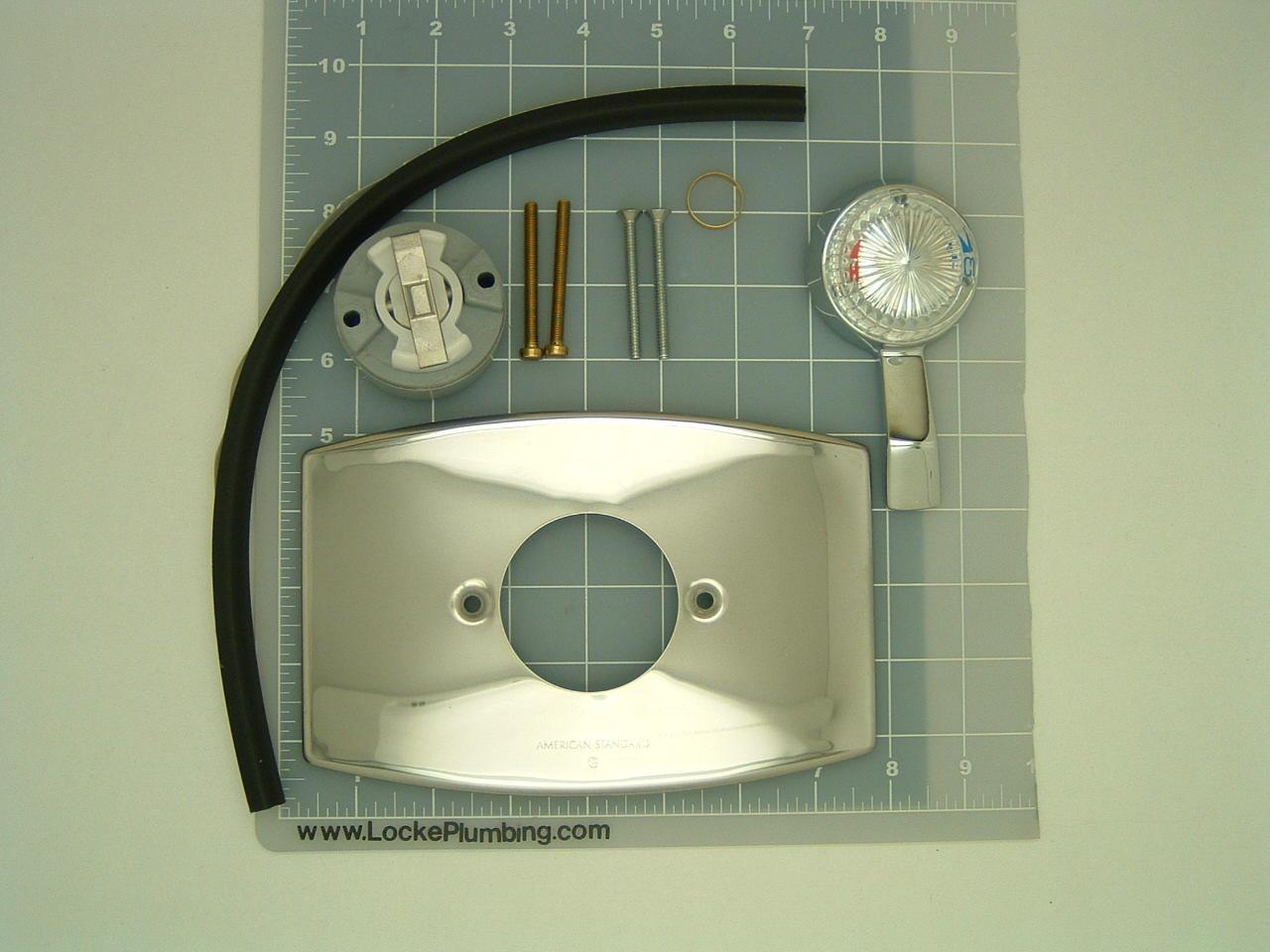American Standard Aquarian 8 Gallon Tub and Shower Kit - Locke Plumbing