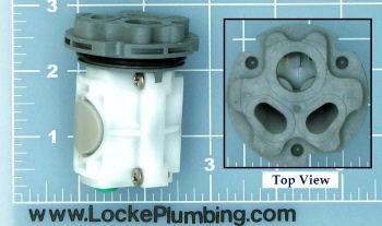 American Standard M952100 0070a Ceramic Single Lever