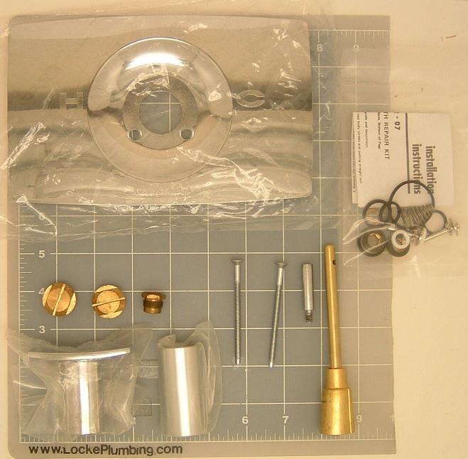 American Standard N1030KIT Complete Push Pull Faucet Rebuild Kit ...