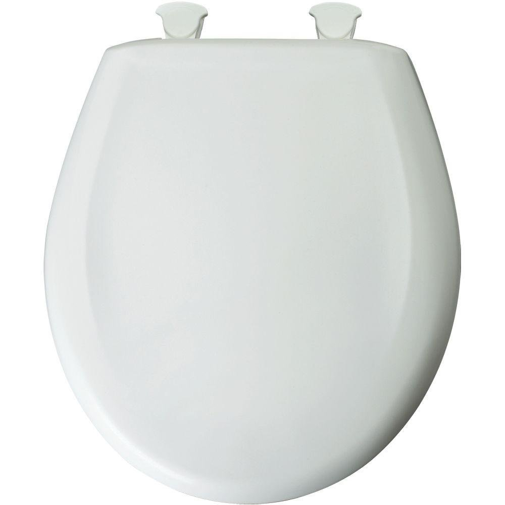 Bemis Round Plastic Seat Slow Close In STANDARD COLORS