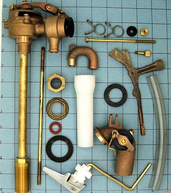 Case Toilet Parts 5166 Fill Valve 62 8 75 Locke Plumbing
