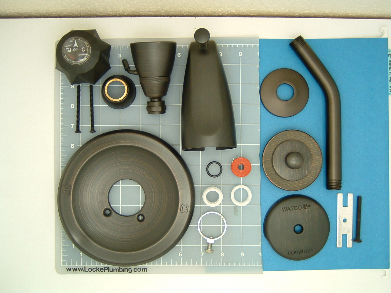 Delta 600 Series Rebuild Kit With Oil Rubbed Bronze Trim