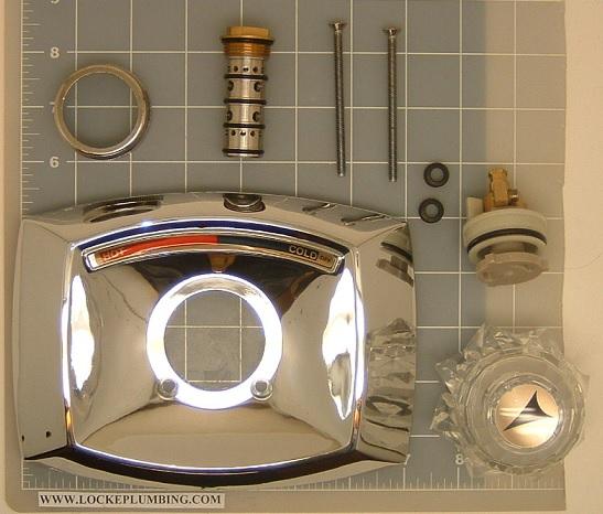 Delta 1604kit Faucet Rebuild Kit Deltamix With Pressure Balancing Spool Locke Plumbing