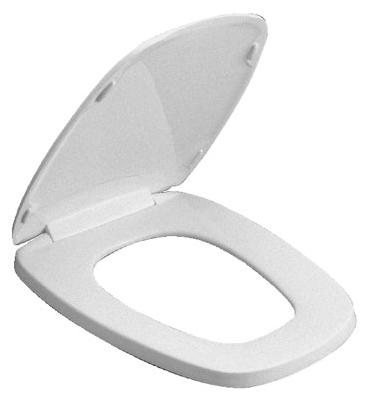Genuine Eljer Emblem Plastic Toilet Seat Elongated Bowl