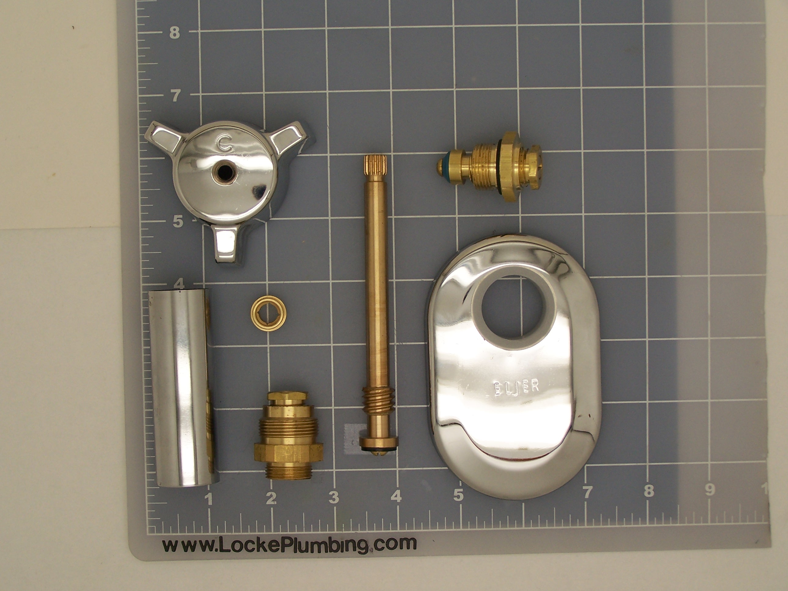 eljer elj kit repair kit for eljer tub faucet locke plumbing - Eljer Kitchen Sinks
