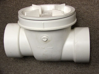 Flo Control 4 Inch Backwater Valve Sewerline Check Valve