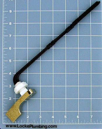 Fluidmaster 682 Polished Brass Finish Toilet Trip Lever