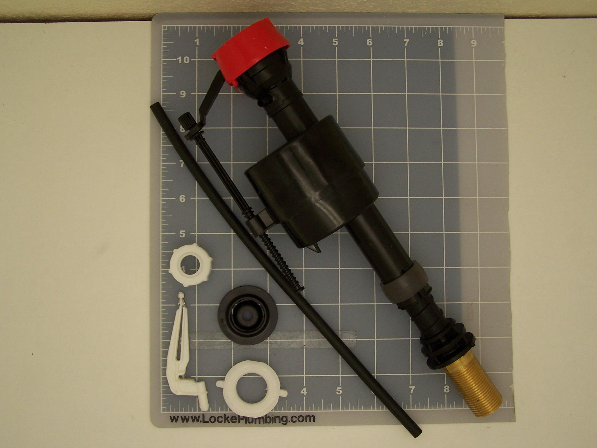 Fluidmaster FLU-PRO45B Fill Valve With Brass Shank - Locke Plumbing