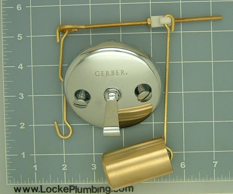 Gerber 97 171 KT Tub Bucket And Linkage Assembly With Faceplate   Locke  Plumbing