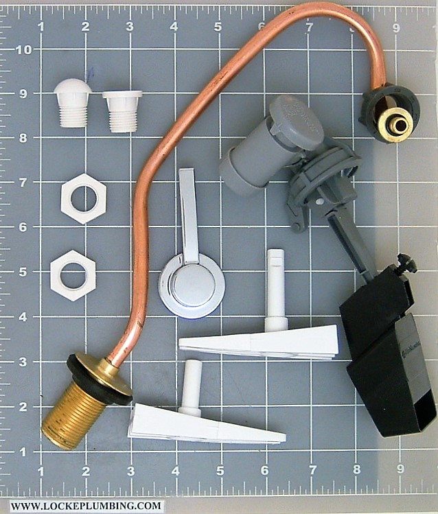 Glacier Bay Flapperless Toilet Rebuild Kit Locke Plumbing