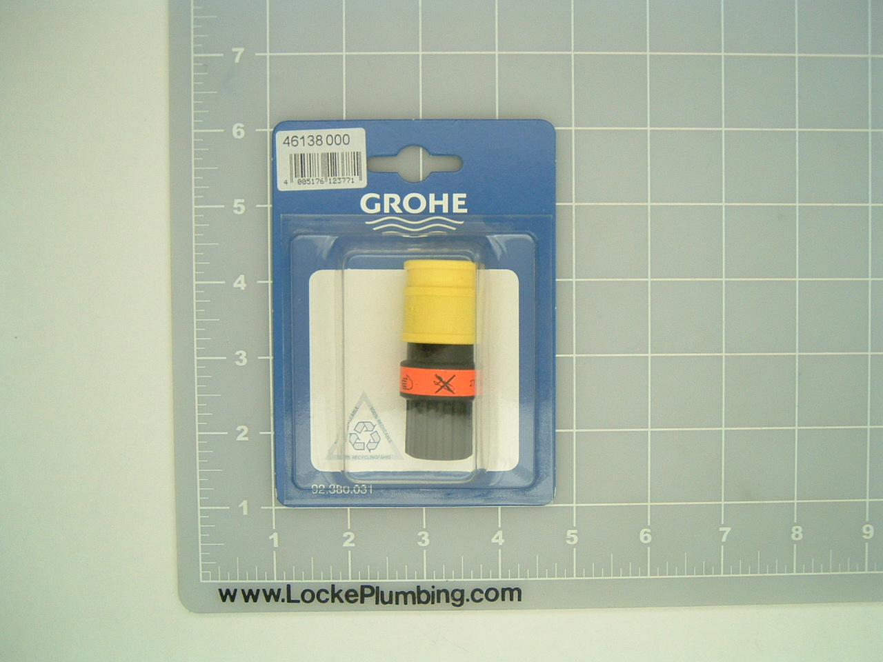 Grohe 46138000 Yellow/Black Quick Disconnect Coupling for Kitchen ...