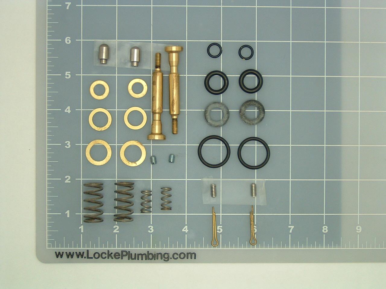Kohler Dual Foot Pedal Control Valve Repair Kit Locke