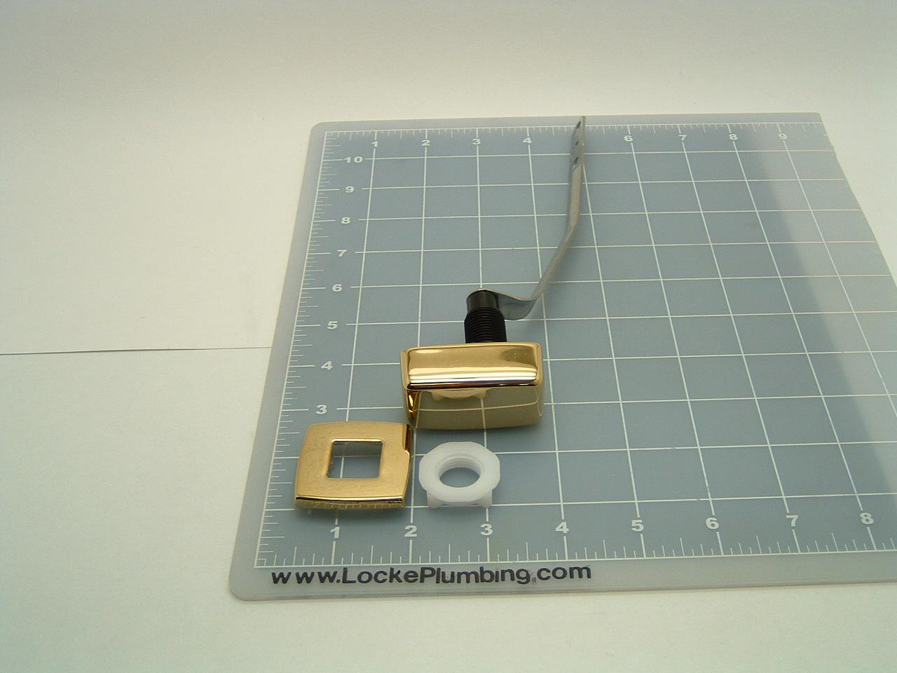 Kohler 87114 Vf Vibrant Brass Right Hand Trip Lever