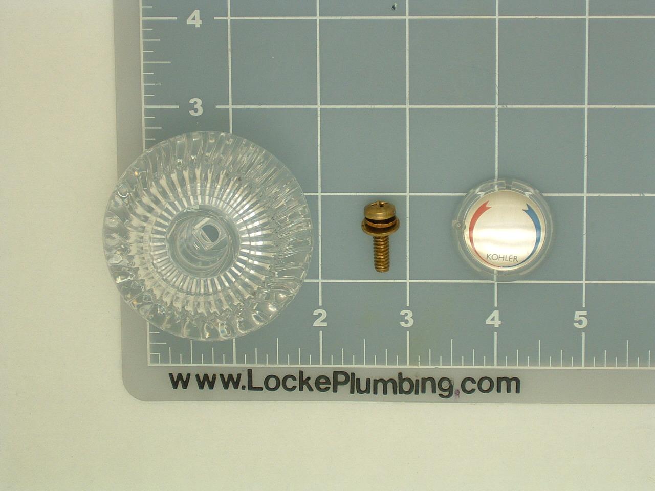 Kohler Gp30416 Acrylic Knob Handle Locke Plumbing
