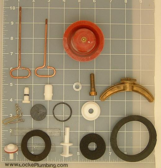 Kohler Rochelle Rebuild Kit With Flush Valve Mounting Kit