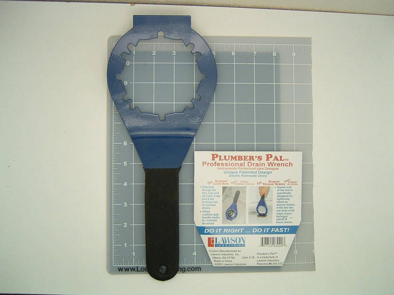 Plumber S Pal Professional Drain Wrench Locke Plumbing