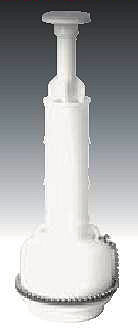 Mansfield Toilet Parts 213 9000 Flush Valve With Tube Of