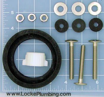 Mansfield Toilet Parts Tank To Bowl Kit - Locke Plumbing