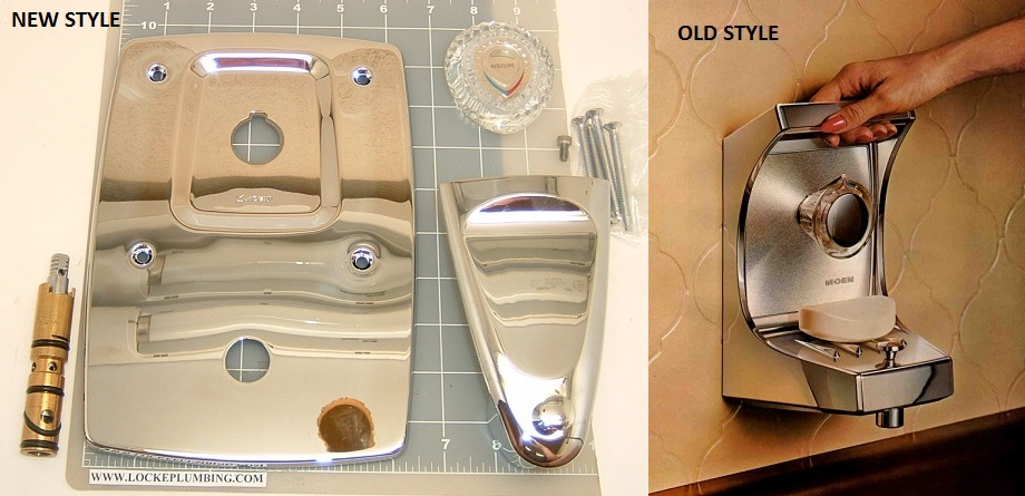 Moen 14292 Moenique Chrome Service Kit Tub And Shower With