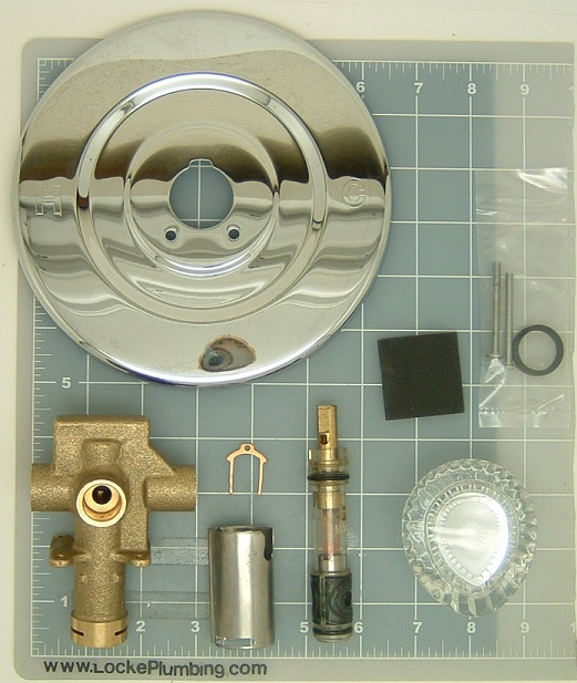Moen 62620 Tub and Shower Rough In Sweat NEW NUMBER 62720 With ...
