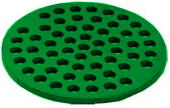 prier 12 inch green cast iron replacement floor drain