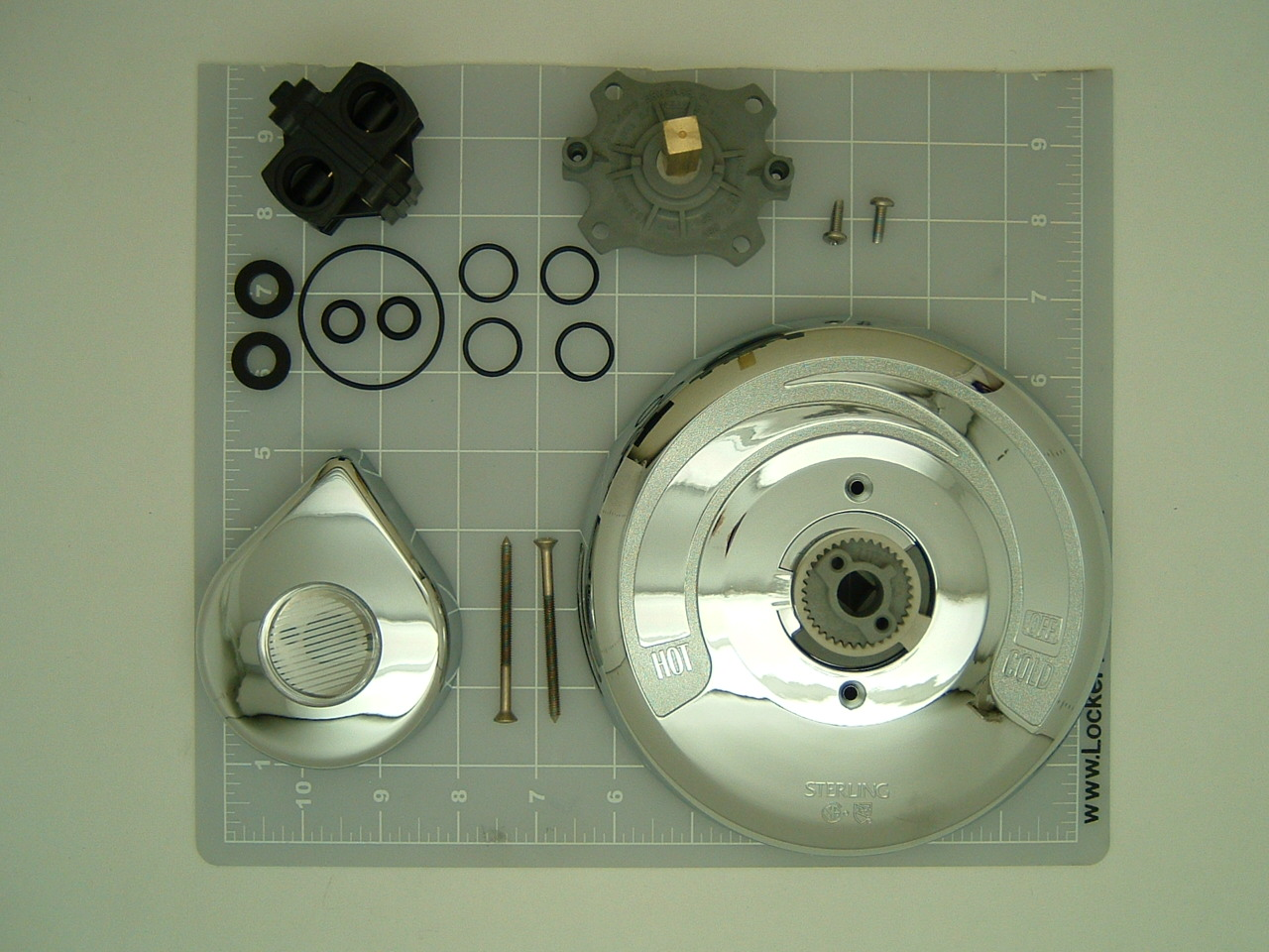 Sterling Single Lever Rebuild Kit With 053-00 Cartridge And 2758 ...