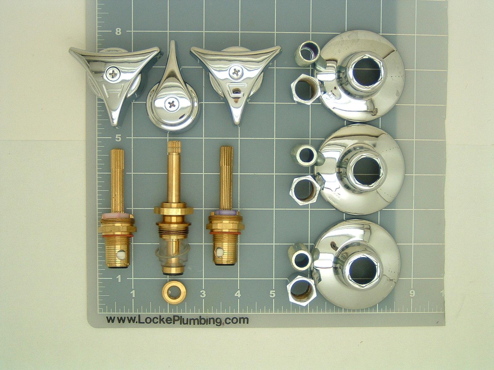 Union Brass Faucet Rebuild Kit With Ceramic Stems Locke