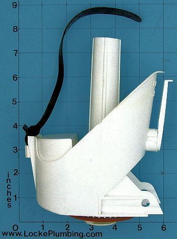 universal rundle tilt flush valve 275 locke plumbing. Black Bedroom Furniture Sets. Home Design Ideas