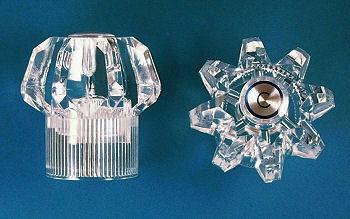 universal rundle 95 7540 handles for plastic stems per pair locke plumbing. Black Bedroom Furniture Sets. Home Design Ideas
