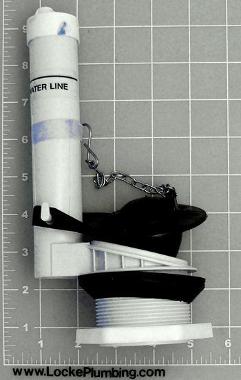 universal rundle flush valve 237 locke plumbing. Black Bedroom Furniture Sets. Home Design Ideas