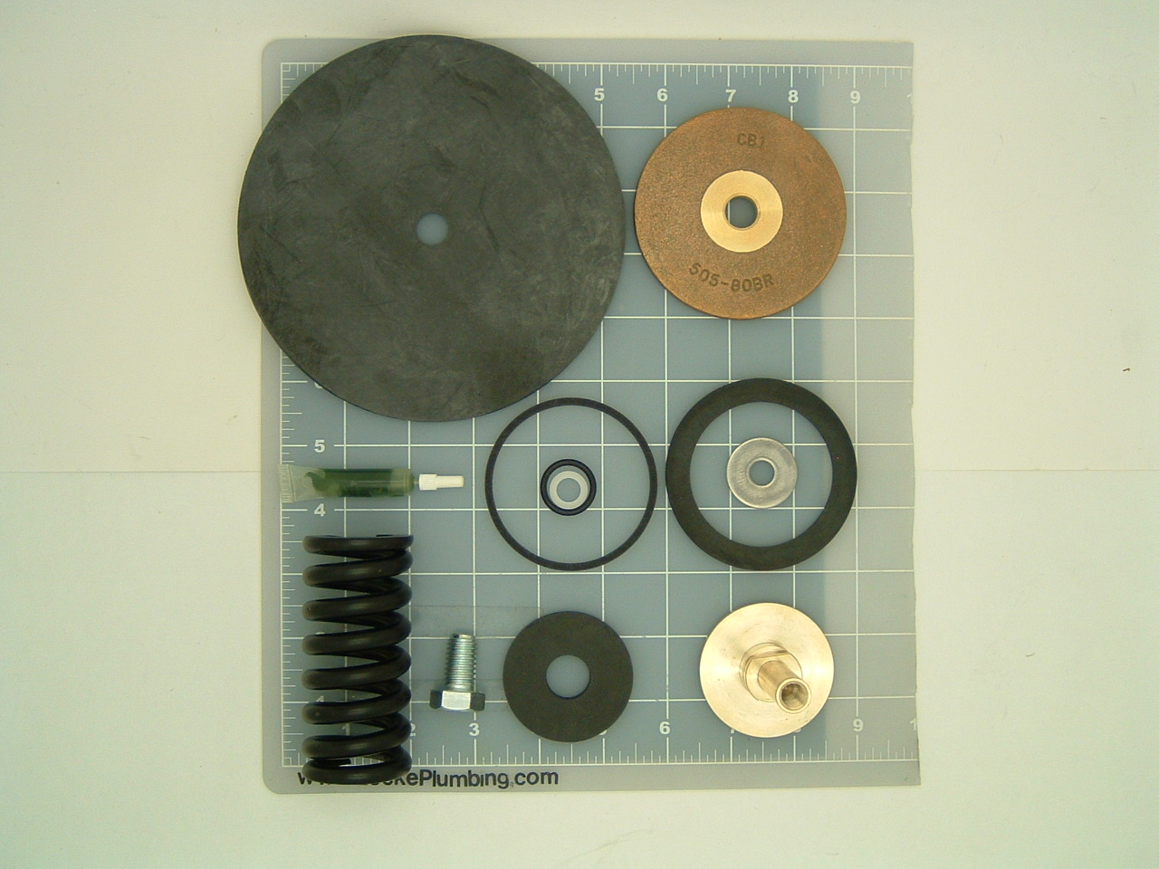 wilkins wil rk2 500xl repair kit for 2 inch pressure reducing valve model 500 no lead locke. Black Bedroom Furniture Sets. Home Design Ideas