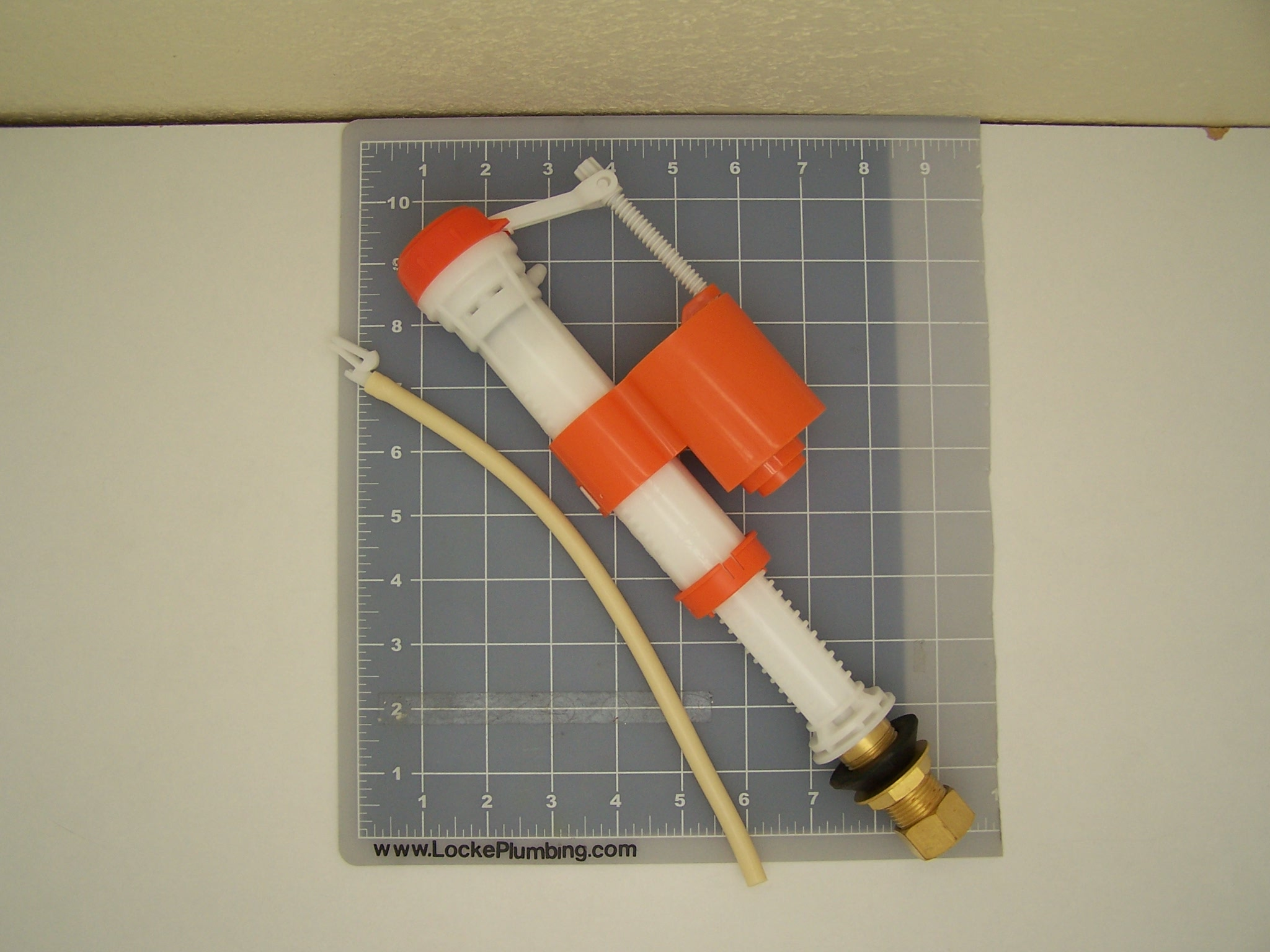 Wolverine Brass 57728b Hush Flo Brass Shank Toilet Fill