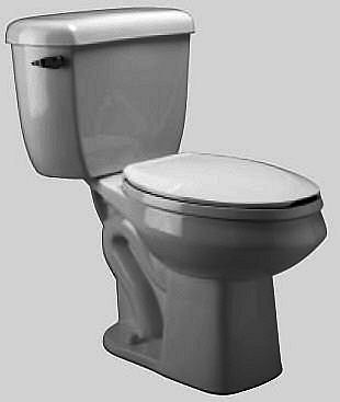 Zurn One Gallon Per Flush High Efficiency Pressure Assisted Toilet ...